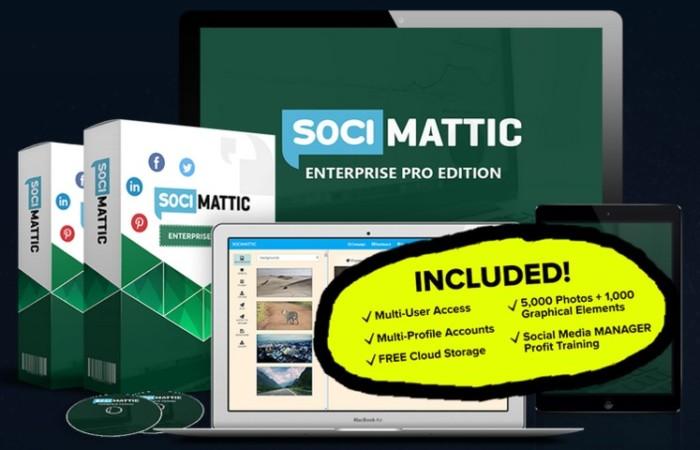 Socimattic Enterprise Pro Edition Agency License by Brett Ingram 1
