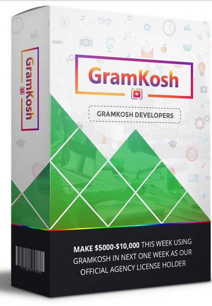 GramKosh Developers Agency License Edition by Jai Sharma Review: Outstanding Formula To Get Resell GramKosh Account as Our Official Agency/Developer License Holder And MAKING $5000- $10000 Using GramKosh In The Next One Week Even Without Making Single InstagramCampaign