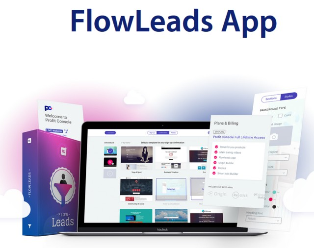 FlowLeads App Viral Email List Building Software by Precious Ngwu 1
