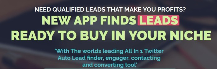Leadz Twitter App Software by Andrew Fletcher & Simon Harries 2