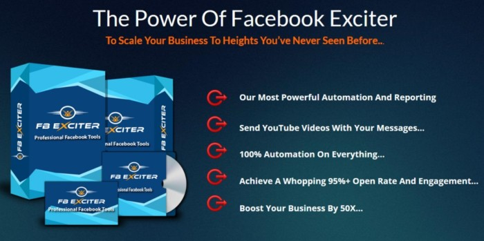 FB Exciter Facebook Messenger App Software by Tlynn Griffith 4