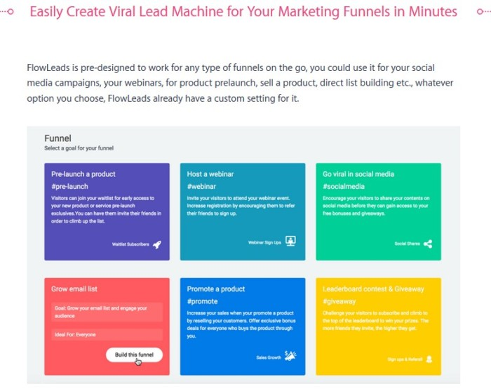 FlowLeads App Viral Email List Building Software by Precious Ngwu a