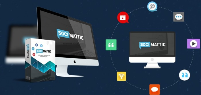 Socimattic Automated Visual Quote Creator Software by Brett Ingram and Mo Latif c